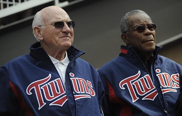 Harmon Killebrew and Rod Carew